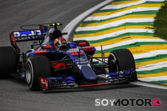 Gasly en Interlagos - SoyMotor.com