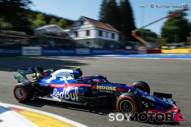 Toro Rosso en el GP de Bélgica F1 2019: Viernes - SoyMotor.com