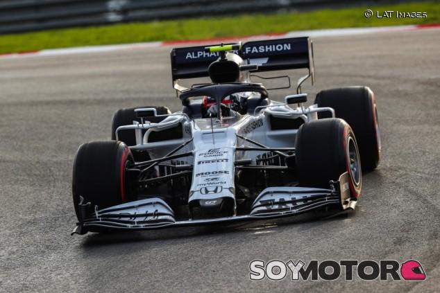 AlphaTauri en el GP de Turquía F1 2020: Viernes - SoyMotor.com