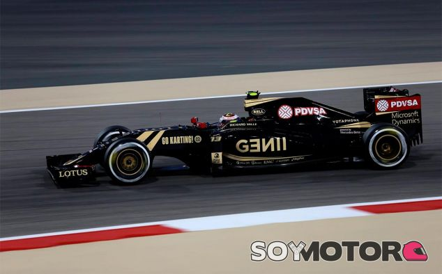Pastor Maldonado en el pasado Gran Premio de Baréin - LaF1
