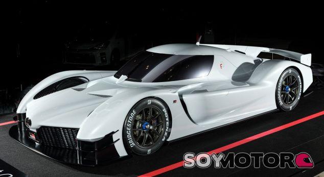 Toyota GR Super Sport Concept WEC - SoyMotor.com