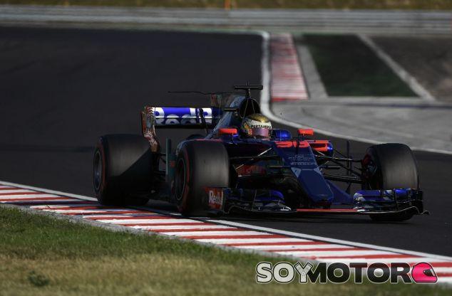 Sean Gelael en los test de Hungría junto a Toro Rosso – SoyMotor.com