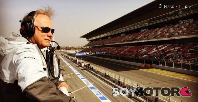 Gene Haas en el Circuit de Barcelona-Catalunya - LaF1