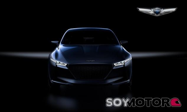 El Genesis New York Concept se esconde entre las sombras - SoyMotor