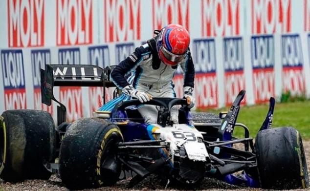 El accidente de Imola dejó tocado el stock de Williams - SoyMotor.com