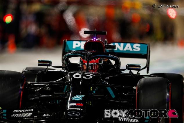 George Russell en los Libres 1 del GP de Sakhir F1 2020 - SoyMotor.com
