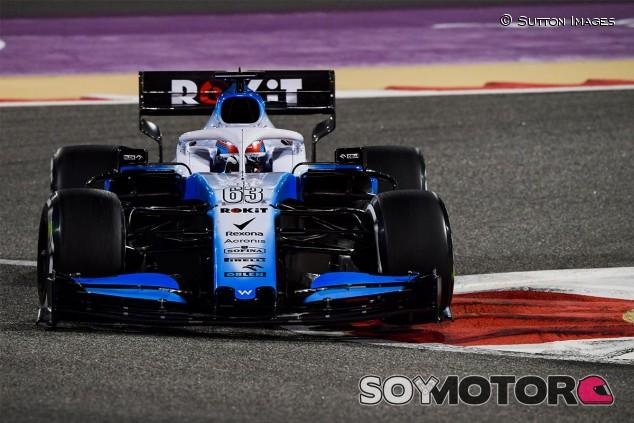 George Russell en los Libres 2 del GP de Baréin F1 2019 - SoyMotor