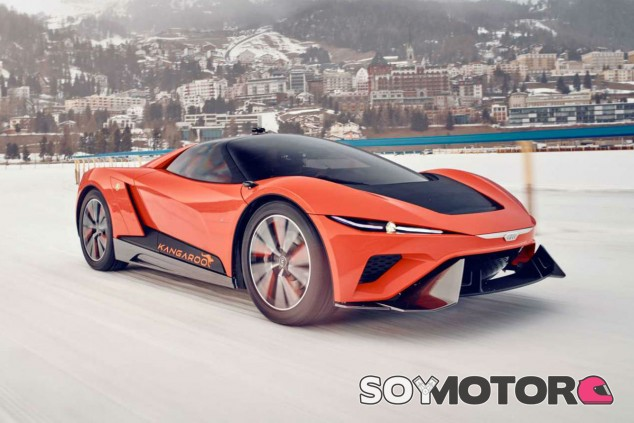 El GFG Style Kangaroo se presenta en el Salón de Ginebra - SoyMotor.com