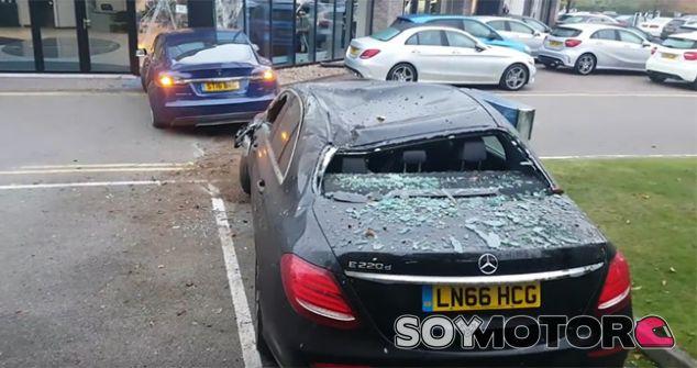 Los dos coches implicados en el siniestro - Soy Motor.com