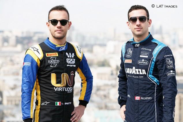 Fórmula 2: Ghiotto y Latifi buscarán la escapada en Bakú - SoyMotor.com