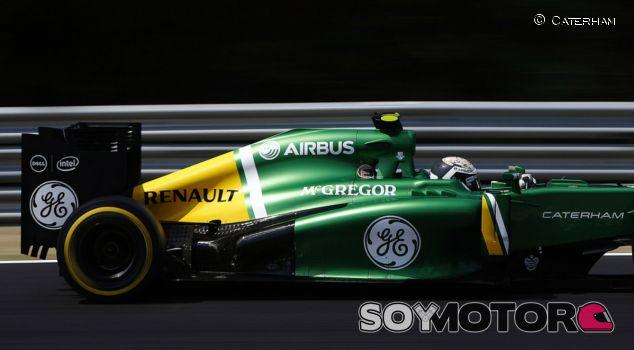 Giedo van der Garde en el Caterham CT03 con motor Renault - LaF1