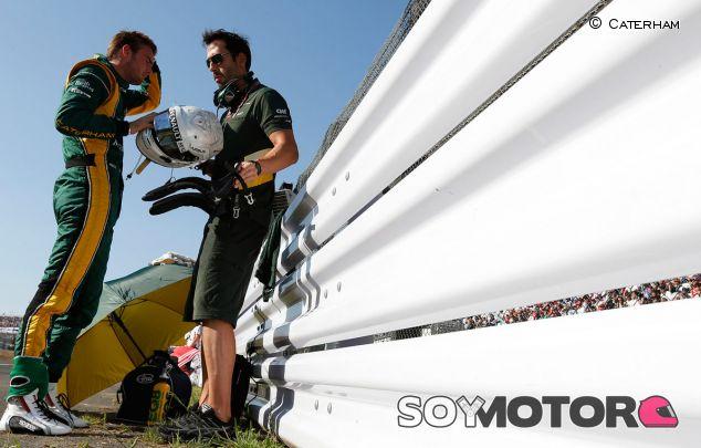 Van der Garde ve escandaloso que el peso deje fuera a algunos pilotos