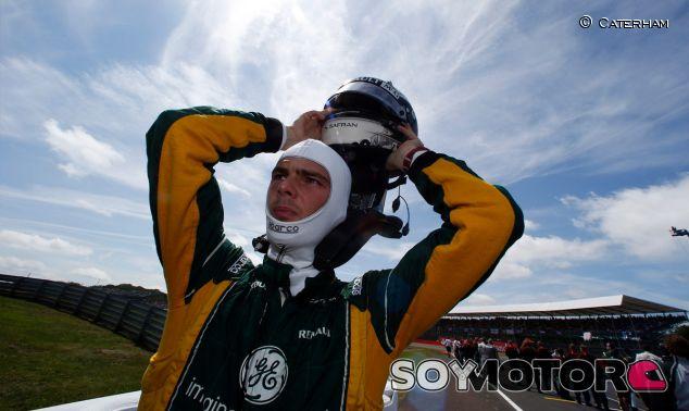 Caterham en el GP Alemania F1 2013: Previo