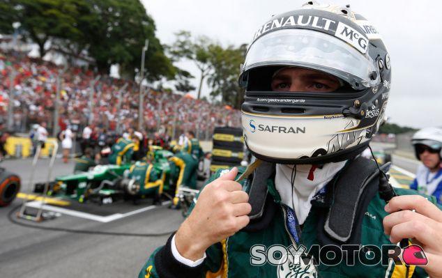 Van der Garde, candidato a ocupar el asiento libre de Force India