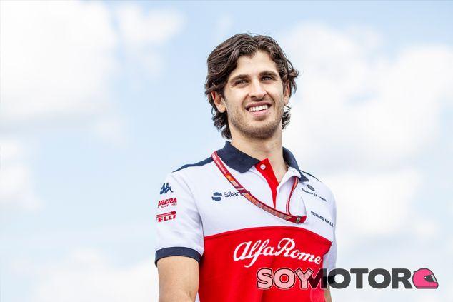 Antonio Giovinazzi en Hungaroring - SoyMotor.com