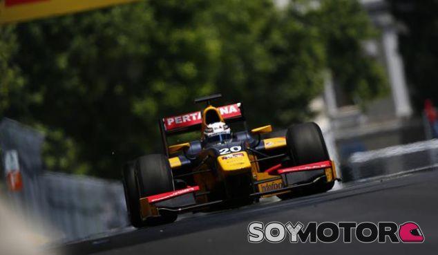 Giovinazzi, durante una carrera de GP2 esta temporada - LaF1