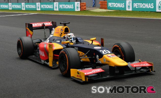 Giovinazzi, durante una carrera de GP2 esta temporada - SoyMotor