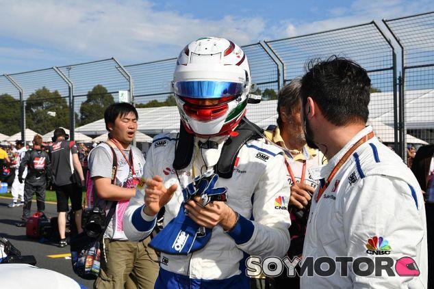 Antonio Giovinazzi en Australia - SoyMotor
