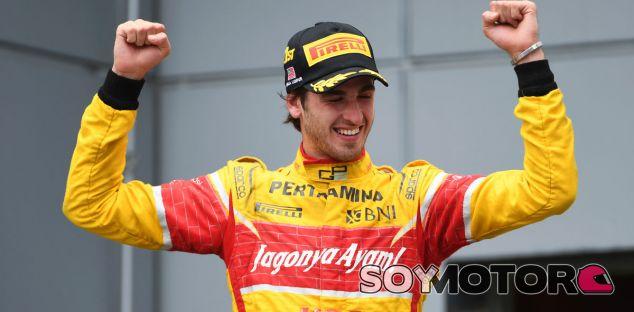 Sauber quiere a Giovinazzi como tercer piloto para 2017 - SoyMotor.com