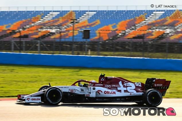 Alfa Romeo en el GP de Turquía F1 2020: Viernes - SoyMotor.com