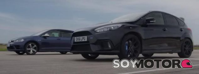 Ford Focus RS vs. Volkswagen Golf R: ¿Cuál corre más?