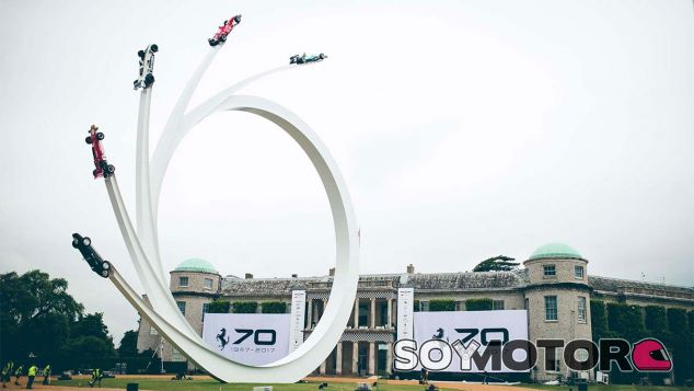Goodwood no olvida a Ecclestone: Así es su impresionante escultura - SoyMotor