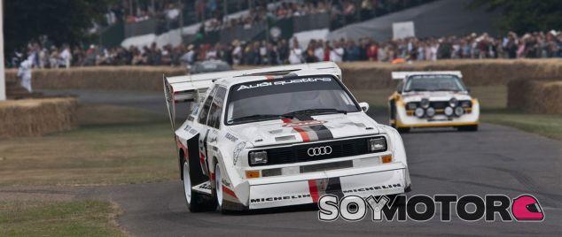 El Audi Quattro presente en Goodwood - SoyMotor