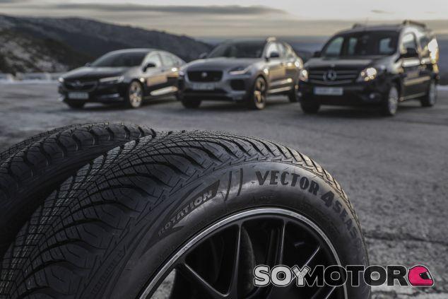 Neumáticos Goodyear Vector 4Seasons - SoyMotor.com