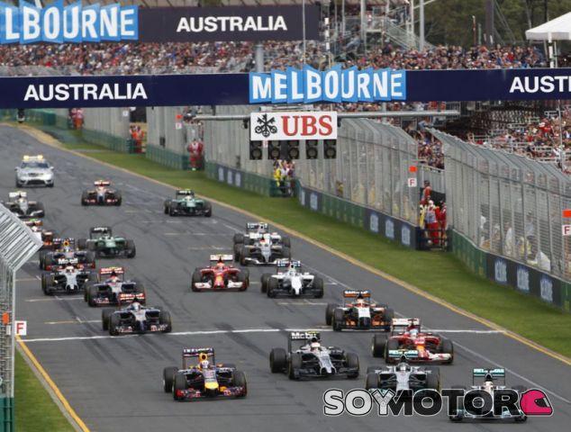 Salida del GP de Australia 2014 - LaF1.es