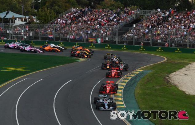Hamilton lidera el GP Australia 2018 - SoyMotor.com