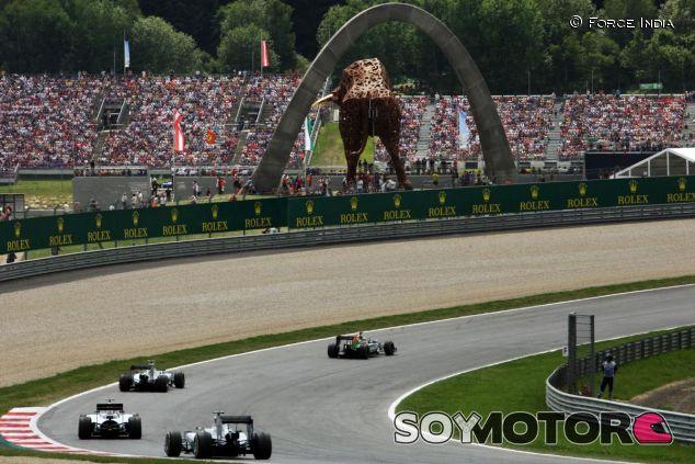 Será difícil que el GP de Austria luzca tan bien como el año pasado - LaF1