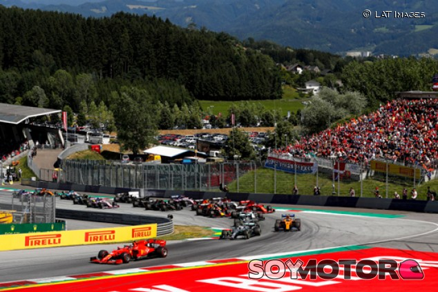 Éste es uno de los calendarios de emergencia que estudia la F1 - SoyMotor.com