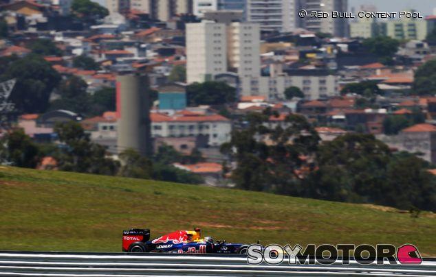 Sebastian Vettel llega a Brasil como tetracampeón de  F1