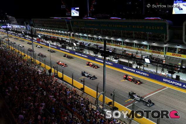 Carey confirma un gran interés de nuevos lugares por albergar la F1 - SoyMotor.com