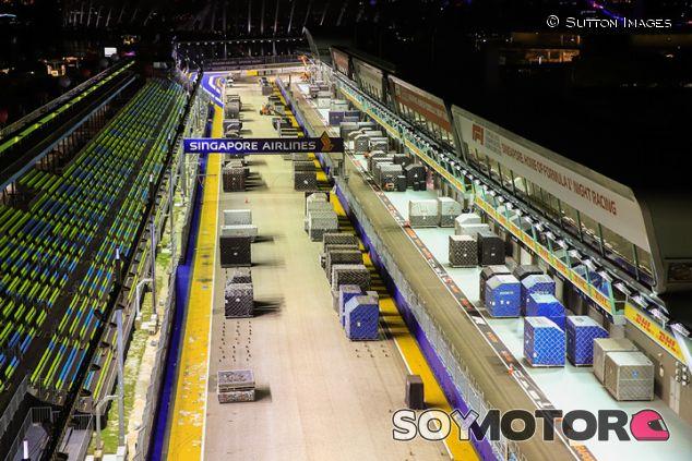Preparativos en Marina Bay - SoyMotor.com
