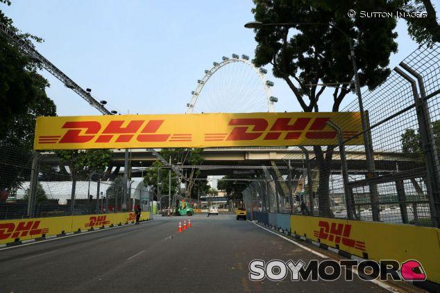 Marina Bay en la previa al GP de Singapur F1 2017 - SoyMotor.com
