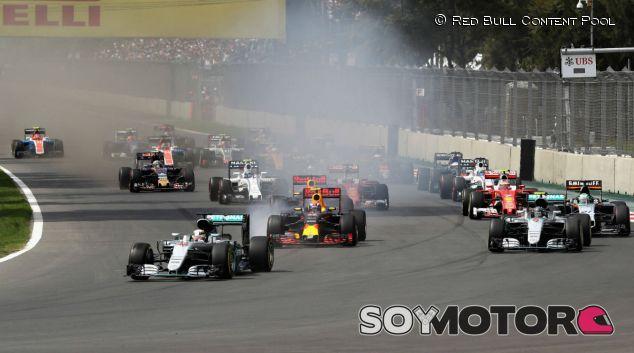 Inicio del GP de México - LaF1