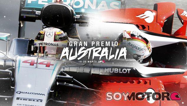 Sigue en directo el Gran Premio de Australia de Fórmula 1 2016 - LaF1