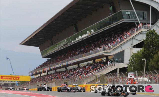 Salida del Gran Premio de España 2014 - LaF1