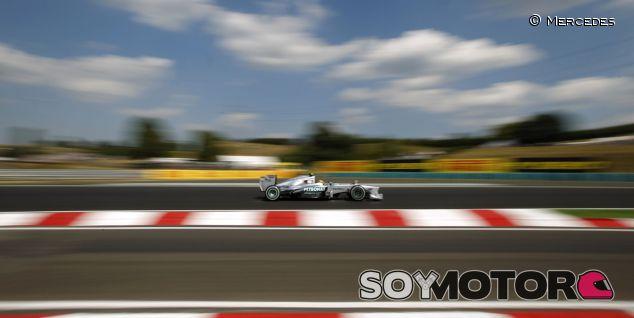 Lewis Hamilton en Hungaroring