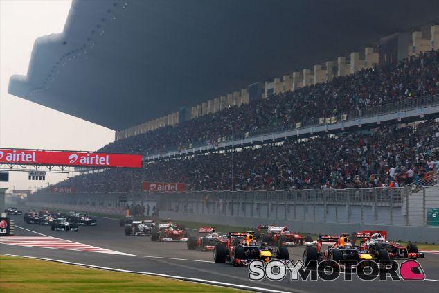Salida del Gran Premio de la India de 2012 - LaF1