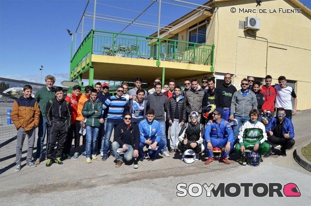 II GP de Kárting LaF1.es: 36 lectores se citan al volante por un día - LaF1