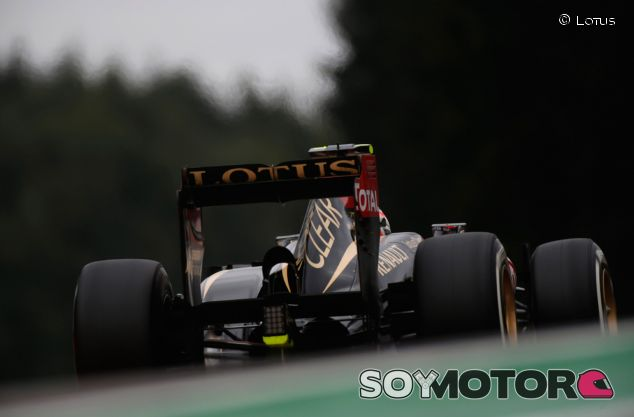 Lotus E21 de Romain Grosjean