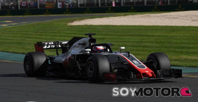 Romain Grosjean en el GP de Australia 2018 - SoyMotor.com