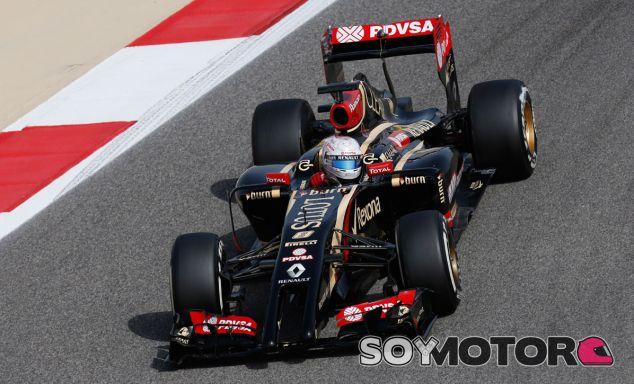 Romain Grosjean en el pasado Gran Premio de Baréin - LaF1