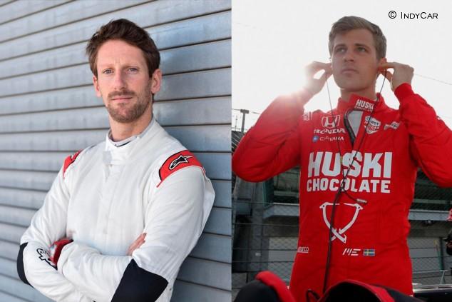 Grosjean y Ericsson: reencuentro... en la IndyCar - SoyMotor.com