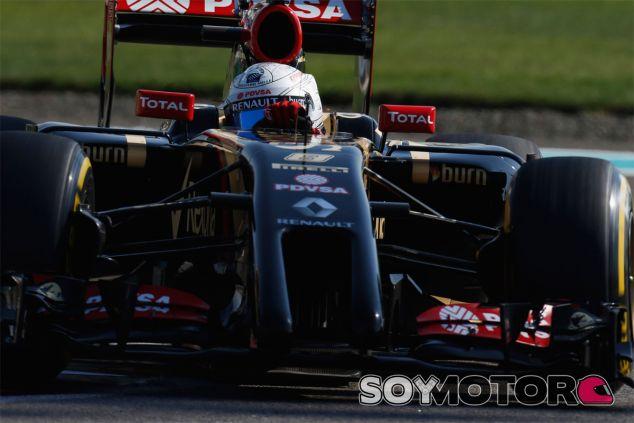 Romain Grosjean en Abu Dabi - LaF1
