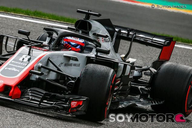 Romain Grosjean en Spa - SoyMotor.com