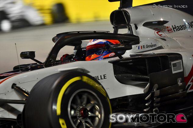 Romain Grosjean en Marina Bay - SoyMotor.com