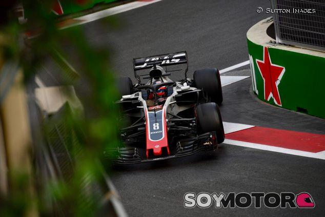 Romain Grosjean en Azerbaiyán - SoyMotor